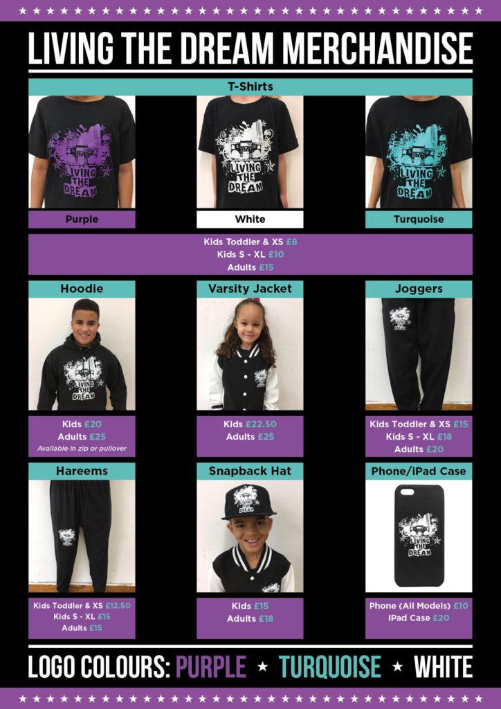 Living the Dream Merchandise (002)